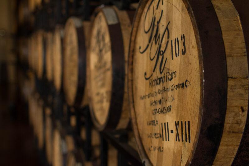 Richland Rum Barrels